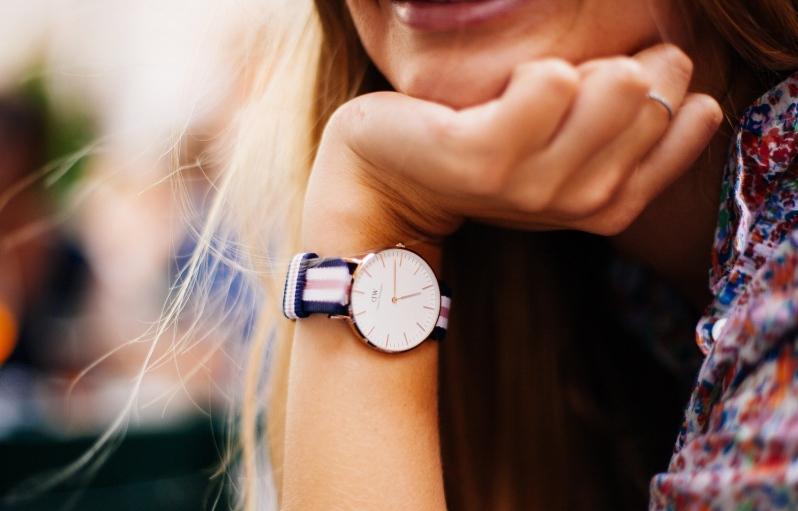 Stora klockor som armband